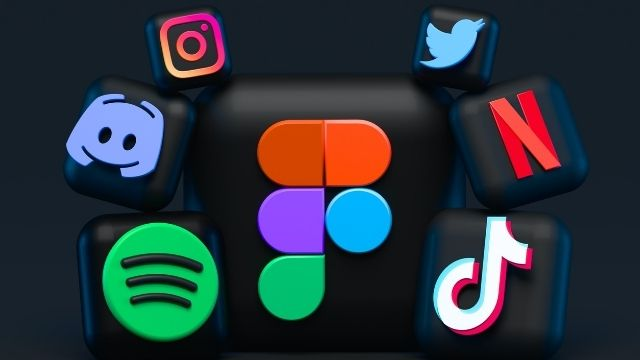 Logos of social platforms like Instagram, Twitter, and TikTok that have successful brand differentiators.